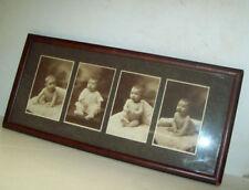 Studio BABY Photograph ANTIQUE Wood FRAME Hoglund OMAHA