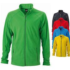 James & Nicholson Herren Fleece Sweatjacke Sweatshirt Pullover Shirt S - 3XL