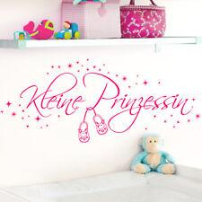 Wandtattoo Wandaufkleber Wandsticker Kinderzimmer Kleine Prinzessin Sterne W1531