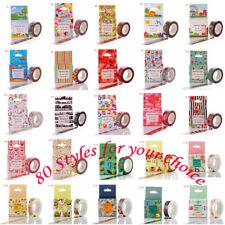 10m Roll DIY Cartoon Washi Tape Sticker Decor Paper Masking Self Adhesive Crafts