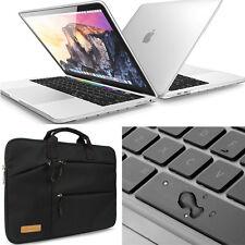 Waterproof 13-15'' Laptop Soft Sleeve Bag Hard Case Keyboard For Macbook HP Dell