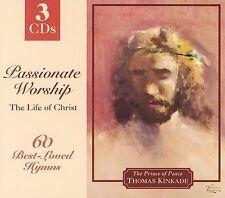 New: Kinkade, Thomas: Passionate Worship: The Life of Christ  Audio CD