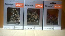 3 Sägeketten 3/8P-44E-1,3 für Stihl MS 180 018 211 231 und viele andere  30cm