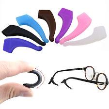 1 Paar Ohrhaken Sperrspitze Halter Anti-Rutschhülse Ohrbügel Für Brillen