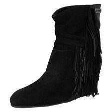 Harley davidson Mujer Tybee Cuña Flequillo Botín Zapatos