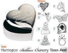 cadeau mariage faveur personnalisé bijou / boîte à bijoux