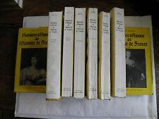 histoires d'amour de l'histoire de france de guy breton 10 tomes