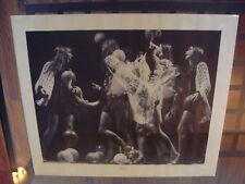 Tony Currin Vintage Poster Kick Off Black & White 1970