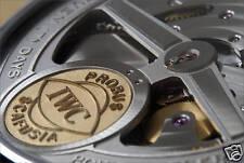 Recueil des calibres IWC vintage International Watch Co