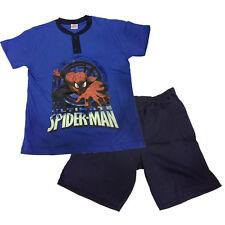 SPIDERMAN pyjama courts t-shirt +short coton bleu différentes tailles