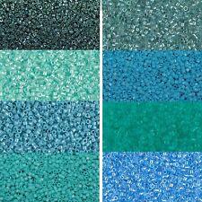 Miyuki Delica Beads rund 11/0 1,6mm türkis, aqua, petrol, mint a 5 Gramm