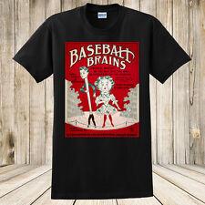 Brand New Baseball Brains 1909 Sheet Music T-Shirt Custom Made Sports tShirt
