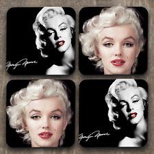 Marilyn Monroe - Personalised High Quality Coaster Set of 4 - C0015