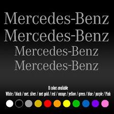 """5"""" X 4"""" Straight Mercedes Benz BBK AMG High Temp Brake Vinyl Decal sticker"""