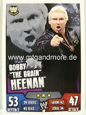 """Slam attax rumble-Bobby """"the Brain"""" Heenan-Legends"""