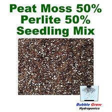 PEAT MOSS 50% PERLITE 50% FINE SEED RAISING MIX 2L-20L BAG PLANT GROWING MEDIUM