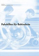 VW Preisliste Fahrhilfen für Behinderte 8 03 price list 2003 Auto PKWs Preise