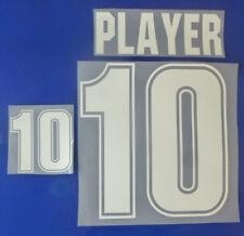 Set Flock Nameset away Trikot jersey shirt Argentinien Argentina 1999 - 2001