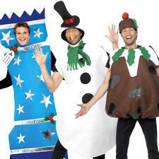 Christmas Mens Fancy Dress Novelty Funny Festive Xmas Winter Adults Costumes New
