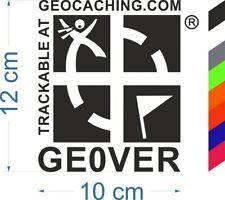 Geocaching Groundspeak trackbarer Car Sticker with Number geocatching