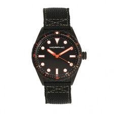 Morphic M69 Series Canvas-Band Watch - Black