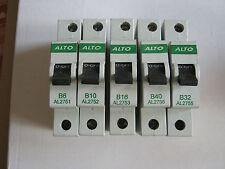 ALTO B6 AL2751/ B10 AL2752/ B16 AL2753/ B32 AL2755/ B40 AL2756 6KA MCB'S