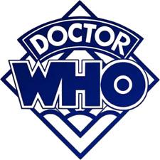 Doctor Who Logo Vinyl Decal Sticker Car / Wall / Laptop / Window