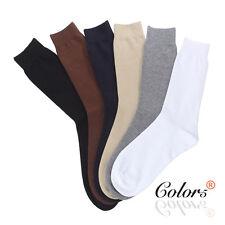SOX ZONE New 6 Pairs Premium Cotton Men's Business Socks