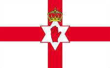NORTHERN IRELAND FLAG 5FT X 3FT IRISH FOOTBALL