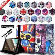 """Per vari 7"""" 8"""" Nvidia Tegra/SCUDO Tablet-supporto folio in pelle Cover Case"""