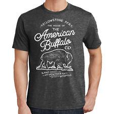 Yellowstone Buffalo T-Shirt National Park 2628