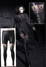 EN STOCK! Pantalon leggings gothique lolita burlesque dentelle sexy Punkrave