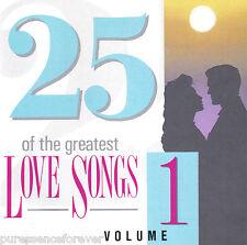 V/A - 25 Of The Greatest Love Songs Volume 1 (UK 25 Tk CD Album)