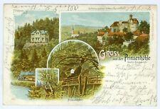 Schloss Hartenstein, Prinzenhöhle, Farb-Litho, 1904