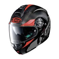 X-Lite X-1004 Nordhelle Carbon Black/Red Modular/Flip up Motorcycle Helmet