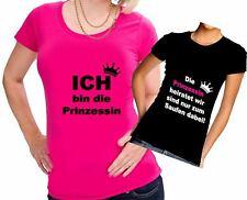 JGA PRINZESSIN HEIRATET Junggesellinnenabschied T-Shirt Damen Party Hochzeit TOP