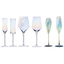 Burgundy Red Wine Glasses White Wine Glasses Champagne Flutes Glass Goblets