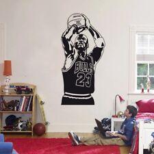 Basketball Player Michael Jordan Wall Sticker Vinyl DIY home decor Decals Sport