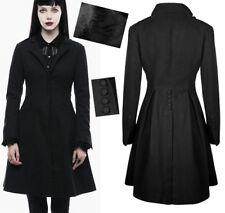 Jacke Mantel Tailliert ausgestellter Gothic Punk Lolita Knopf gefaltet PunkRave