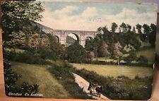 Irish Postcard Viaduct Glendun Glens of Antrim Northern Ireland Uk 1909 Lawrence
