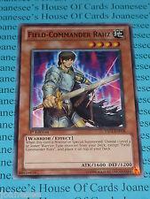 Field-Commander Rahz YS11-EN018 Common Yu-Gi-Oh Card Mint 1st Edition New