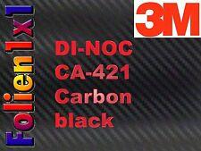 76,18€/qm 28 cm x 122 cm 3M™ DI-NOC™ CA-421 Carbon Folie schwarz + 5 ml Primer