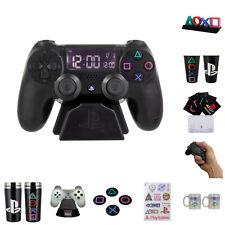 PlayStation Fanartikel Wecker Tasse Icons Sony Sticker Zocken Konsole Dekolampe