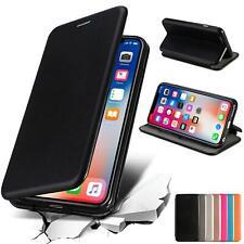 Handy Tasche Für iPhone X XS Max XR Flip Cover Case Schutz Hülle Etui Schale Bag