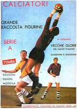 ALBUM FIGURINE CALCIATORI PANINI 1962-1963 - RISTAMPA - L'UNITA'