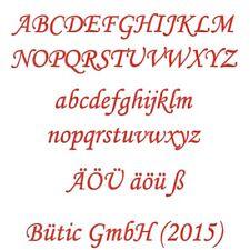 Sperrholz Buchstaben Rot - MT5-20 - Wunschtext/Schriftzug mit Größenauswahl