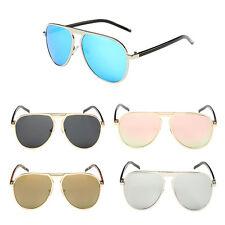 RR Männlich Metallrahmen Brille Leopard Drucken Farbe Arm Sonnenbrille UV400