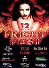 Fright Fest (DVD,  3-Disc Set) HORROR Jack Frost / Devil in Flesh