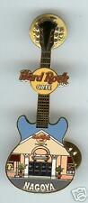 Hard Rock Cafe NAGOYA, JAPAN. Facade Series Guitar Pin.