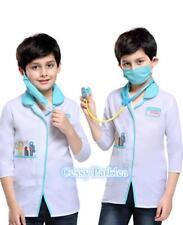 Boys Girls Vet Animal Hospital Doctor Nurse Book Week  Dress Up Costume Outfit